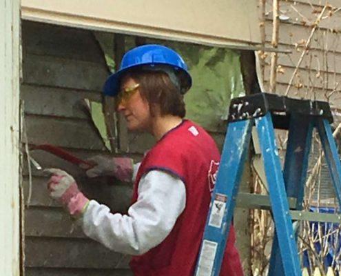 home repair progress