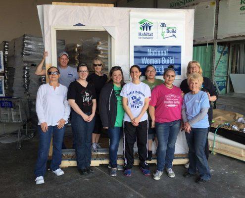 National Women Build Week Group