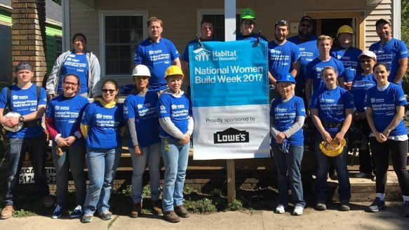 corporate lowes women build