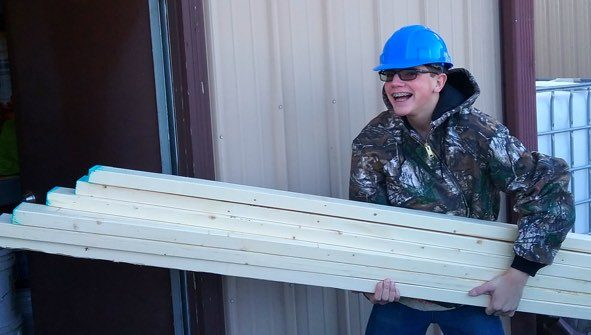 lumber donation