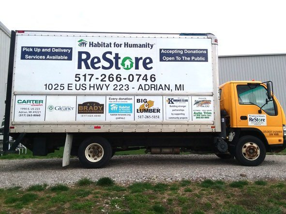 restore pick up box truck